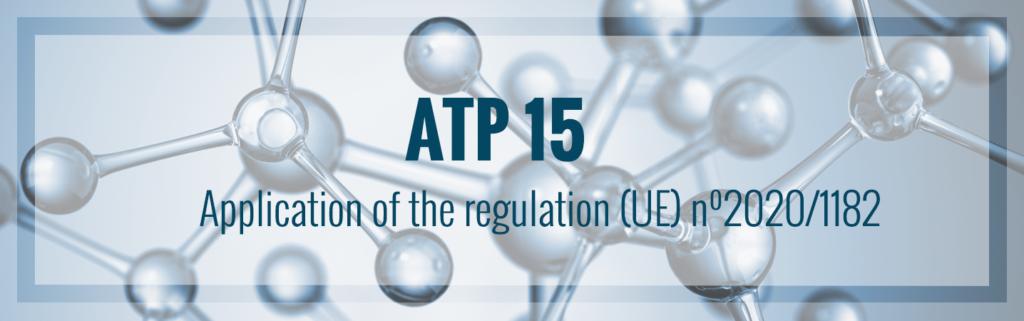 15e ATP van de CLP-verordening gepubliceerd